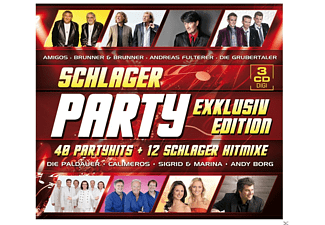 VARIOUS - Schlager Party - Exklusivedition - (CD)