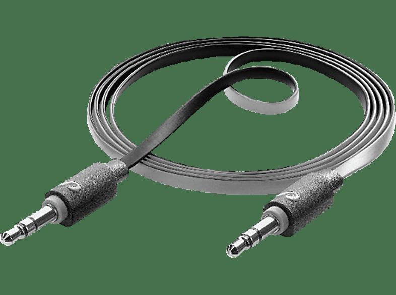 CELLULAR LINE AUX Music Audio Kabel Schwarz