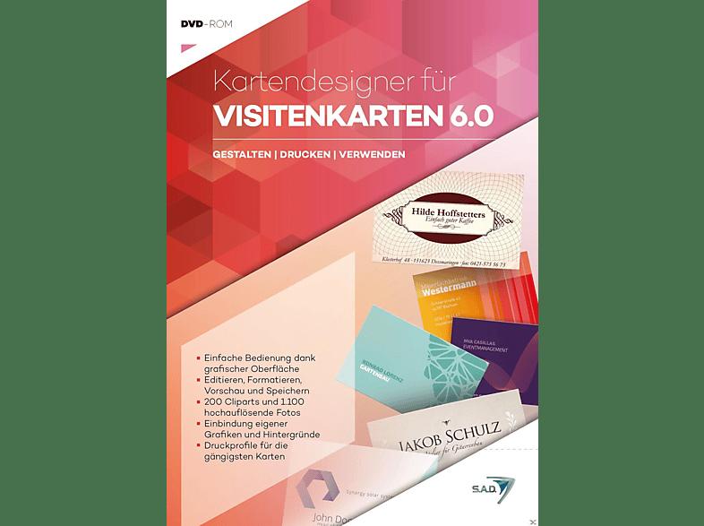 Kartendesigner 6.0 - Visitenkarten