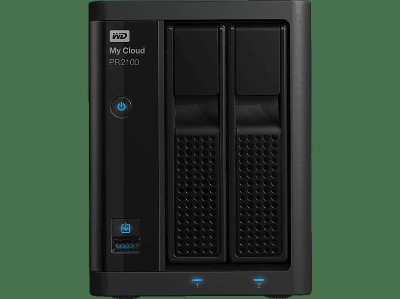 WD My Cloud™ Pro Series PR2100  16 TB 3.5 Zoll extern
