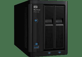 WD My Cloud™ Pro Series PR2100 NAS 3,5 Zoll Anzahl Festplattenschächte: 2 Schwarz}