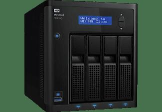 WD My Cloud™ Pro Series PR4100 NAS 3,5 Zoll Anzahl Festplattenschächte: 4 Schwarz}