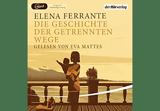 Eva Mattes - Die Geschichte Der getrennten Wege  - (MP3-CD)