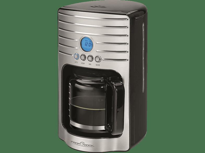 PROFI COOK PC-KA 1120  Kaffeemaschine Schwarz/Edelstahl