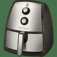 PROFI COOK PC-FR 1115 H Fritteuse, Schwarz/Inox