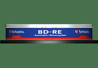VERBATIM 43694 BD-RE Single 2X 25GB Rohling
