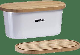 ZELLER 25351 Brotkasten Weiß