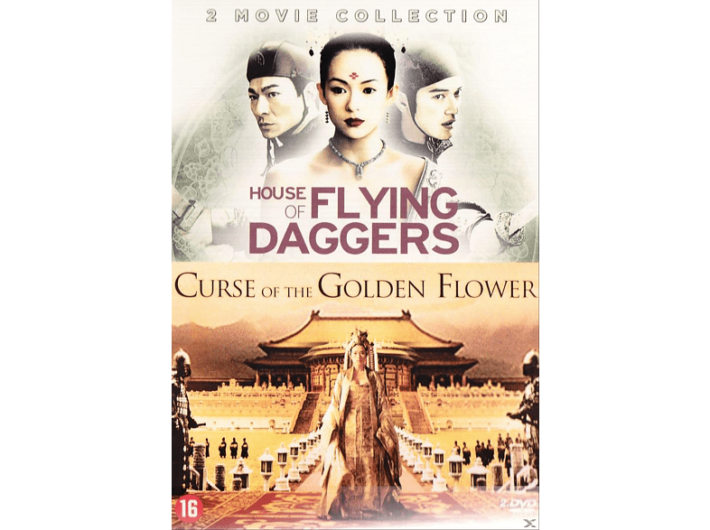 Curse of the Golden Flower & House of Flying Daggers DVD