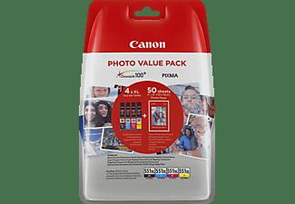 CANON CLI-551 XL Tintenpatrone mehrfarbig (6443B006AA)