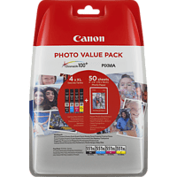 CANON CLI-551 XL Tintenpatrone Multipack, mehrfarbig