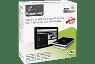 PCTV Broadway HD-S2 Satelliten-TV Streaming-System, Schwarz