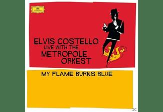 Elvis Costello - My Flame Burns Blue  - (Vinyl)