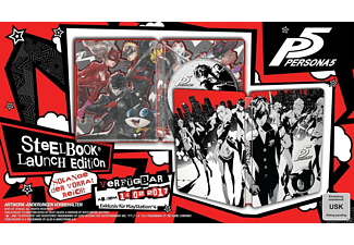 Persona 5 - Limited SteelBook D1-Edition - [PlayStation 4]