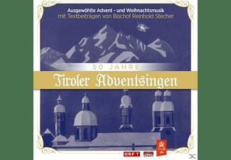 Diverse Interpreten - 50 Jahre Tiroler Adventsingen/Texte Stecher  - (CD)
