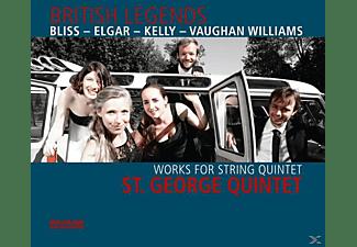 ST. GEORGE QUINTET - British Legends  - (CD)