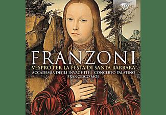 Accademia Degli Invaghiti, Concerto Palatino - Vespro Per La Festa Di S.Barbara  - (CD)