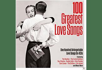 VARIOUS - 100 Greatest Love Songs  - (CD)