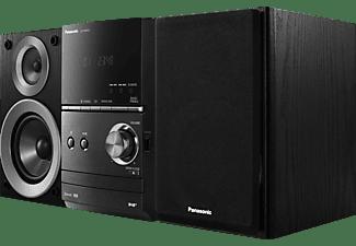 PANASONIC SC-PM602 Kompaktanlage (Schwarz)
