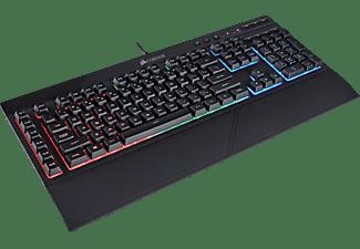 CORSAIR Gaming Tastatur K55 RGB, USB, DE (CH-9206015-DE)
