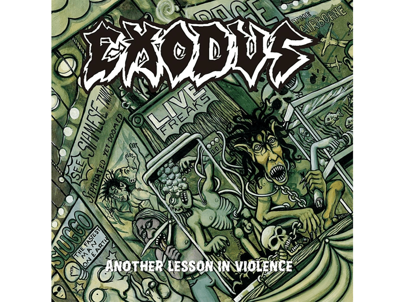 Exodus - Another Lesson In Violence-Live (LTD Picture) [Vinyl]