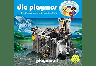 Die Playmos - (55)Die Belagerung Der Löwenritterburg  - (CD)