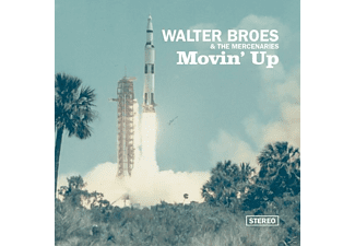 Walter Broes, The Mercenaries Broes - Movin' Up  - (CD)