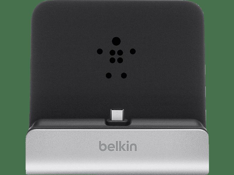 BELKIN Micro-USB Dock XL Ladestation, Silber