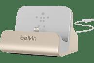 BELKIN Lightning-Dock Ladestation, Gold