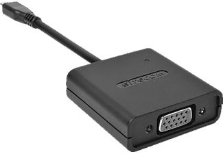 SITECOM CN 355 Micro-HDMI zu VGA + Audio, Adapter