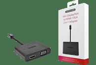 SITECOM CN 347 DisplayPort zu HDMI/VGA 2-in-1 Adapter