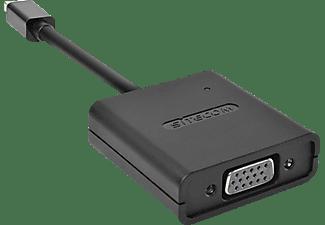 SITECOM CN 345 Mini-DisplayPort zu VGA Adapter, Schwarz