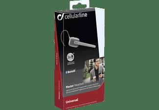 CELLULAR LINE 37821 BTMASTERK, In-ear Freisprecheinrichtung Bluetooth Schwarz