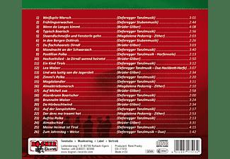 Deferegger Tanzlmusik/M.Pedarnig/Gliber - Volksmusik aus Osttirol 3  - (CD)