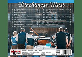 Liachtmess Musi - Aussaputzt  - (CD)