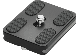 CULLMANN Mundo MX484 Schnellkupplungs-Kameraplatte, Schwarz