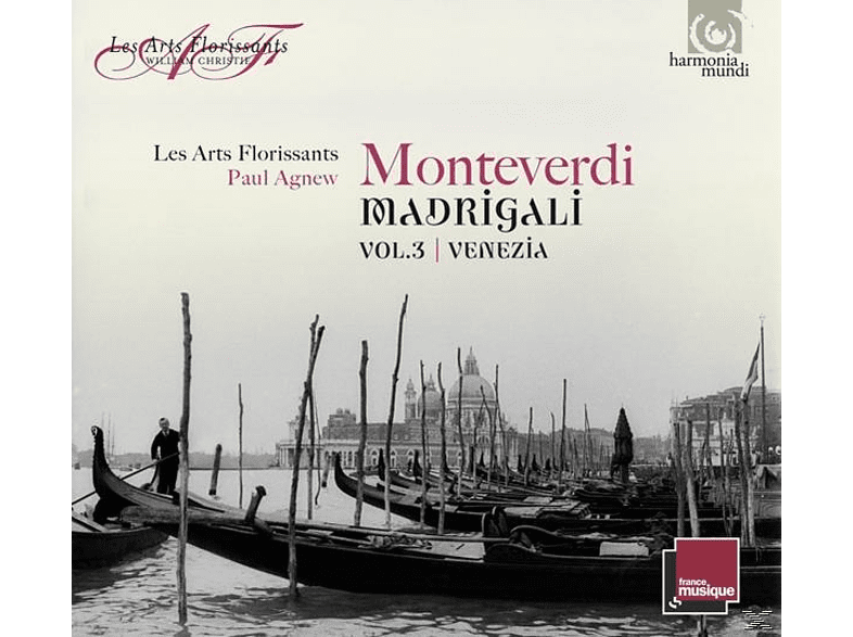Les Arts Florissants & Agnew - Madrigali Vol.3 Venezia [CD]