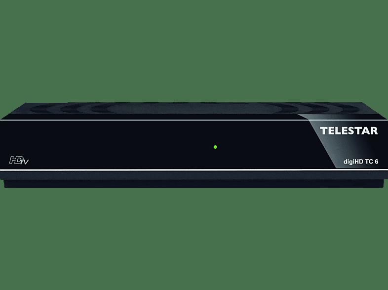 TELESTAR digiHD TC 6 DVB-C2 Receiver (HDTV, DVB-C2, Schwarz )