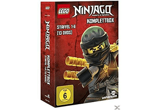 Lego Ninjago Komplettbox - Staffel 1-6 DVD