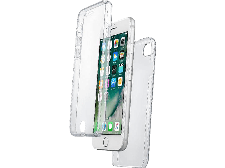 CELLULAR LINE Touch , Full Cover, Apple, iPhone 7, iPhone 8, Kunststoff, Transparent