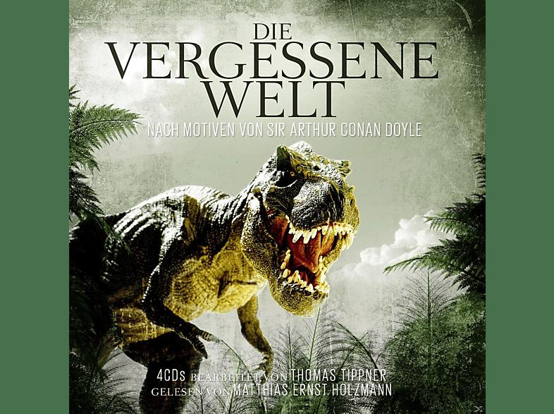 BEARBEITER: T. TIPPNER - GELESEN VON M.E. HOLZMANN - Die Vergessene Welt-A.C.Doyle - (CD)