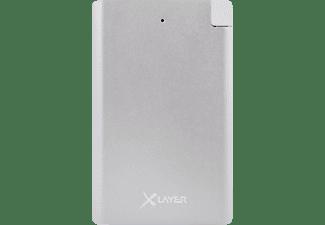 XLAYER Pocket PRO Powerbank 2500 mAh Silber