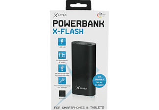 XLAYER XLayer X-Flash Powerbank 5200 mAh Schwarz