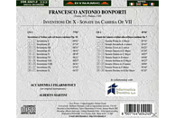 Accademia I Filarmonici, Alberto Martini - inventioni op.X/Sonate op.VI [CD]