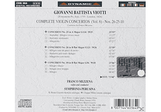 Symohonia Perusina - Sämtliche Violinkonzerte Vol.8  - (CD)