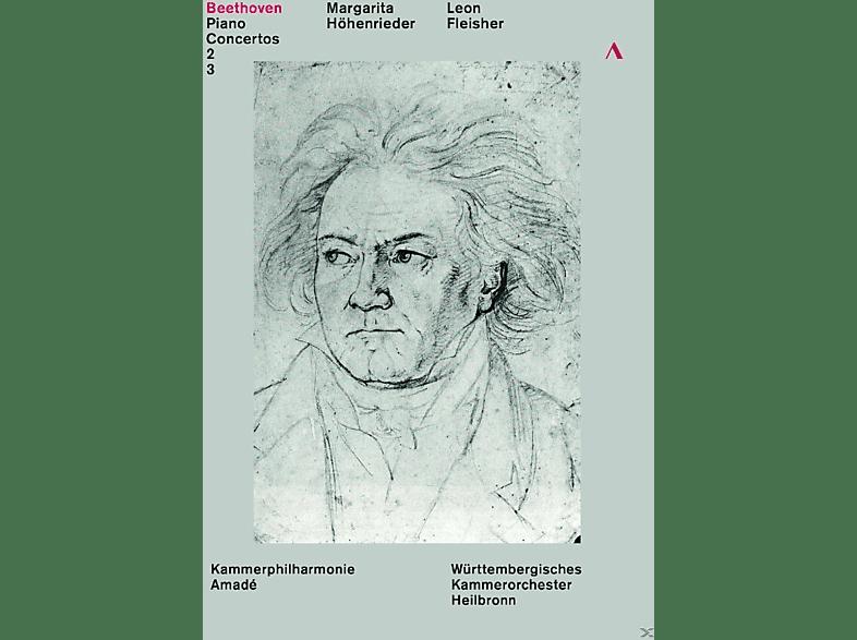 Margarita Höhenrieder, Kammerphilharmonie Amade, Württembergisches Kammerorchester (heilbronn) - Klavierkonzerte 2 & 3 [DVD]