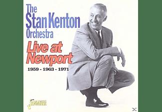 Stan Orchestra Kenton - Live At Newport 1959-1963-1971  - (CD)