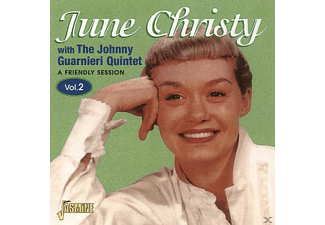 JUNE W. THE JOHNNY GUARNIE Christy, June Christy - A FRIENDLY SESSION 2  - (CD)