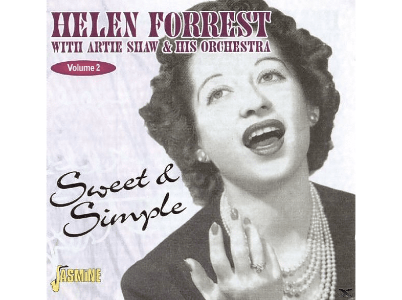 Artie & His Orchestra Shaw, Helen Forrest - Sweet And Simple-& Artie Shaw [CD]