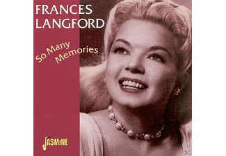 Frances Langford - So Many Memories  - (CD)