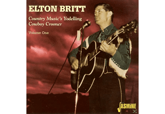 Elton Britt - Country Music's Yodeling Cowboy  - (CD)